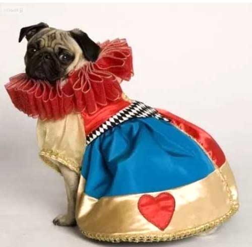disfraz perra reina corazones