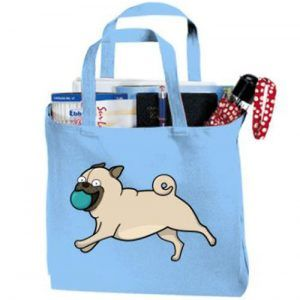 bolsos con diseño de perros