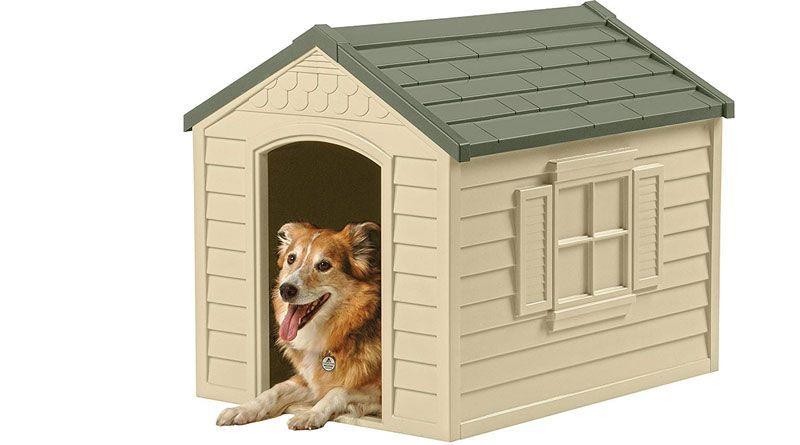 casetas de resina para perros