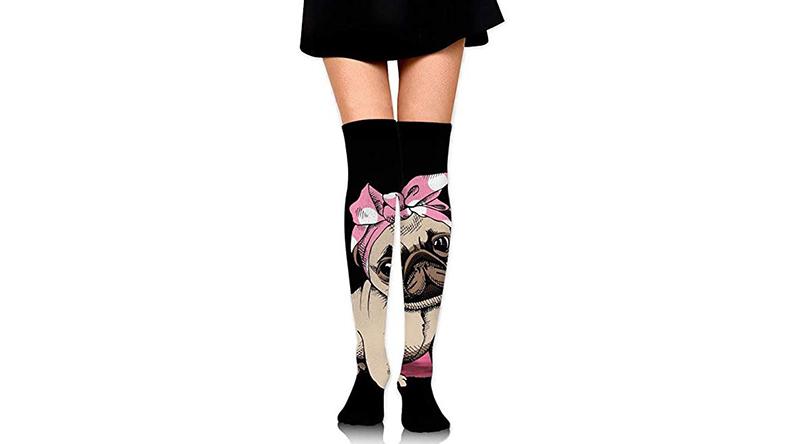 calcetines largos de carlino